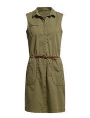 Dresses woven - MOSS GREEN