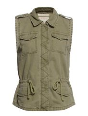 Vests indoor woven - MOSS GREEN