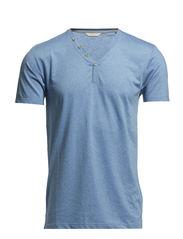 T-Shirts - BLUE SPLASH MELANGE