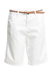 Shorts woven - WHITE