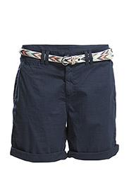 Shorts woven - CINDER BLUE