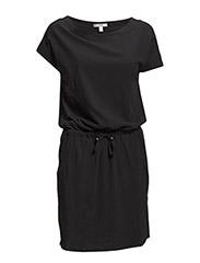 Dresses knitted - BLACK