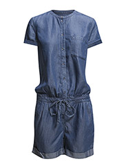 Overalls denim - E DARK BLUE