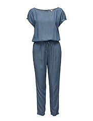 Overalls woven - GREY BLUE