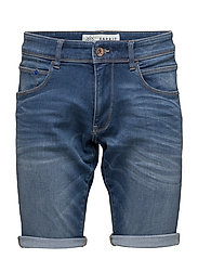 Shorts denim - BLUE MEDIUM WASH
