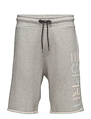 Shorts knitted - MEDIUM GREY