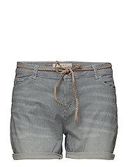 Shorts woven - GREY BLUE