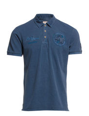 Polo shirts - STEEL BLUE