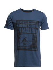 T-Shirts - STEEL BLUE