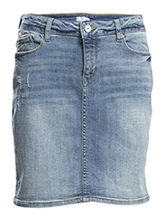 Skirts denim - BLUE LIGHT WASH