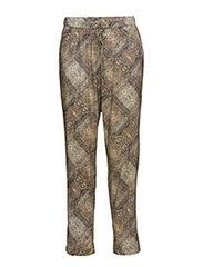 Pants woven - CINNAMON
