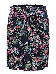 Skirts light woven - NAVY