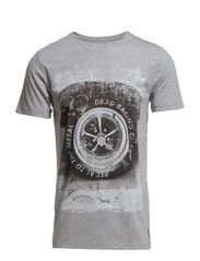 T-Shirts - METAL GREY MELANGE