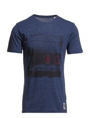 T-Shirts - SHADOW BLUE MELANGE