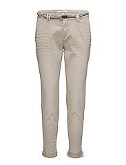 Pants woven - LIGHT TAUPE