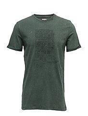 T-Shirts - DARK TEAL GREEN 2