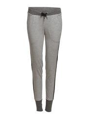 Pants knitted - METAL GREY MELANGE