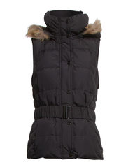Vests outdoor woven - BLACK