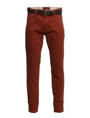 Pants woven - RUST IRON