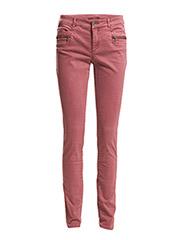 Pants woven - MAUVE