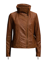 Jackets outdoor leather - CAMEL