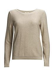Sweaters - LIGHT BEIGE 2