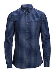 Shirts woven - GREY BLUE