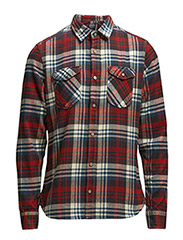 Shirts woven - BEIGE