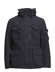 2-in-1 Jacket with Zip-Off Waistcoat - NAVY