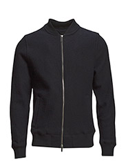 Jackets outdoor knitted - NAVY
