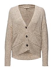 Sweaters cardigan - SAND