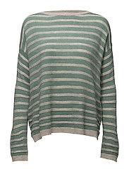 Sweaters - DUSTY GREEN 5