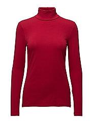 T-Shirts - DARK RED 4