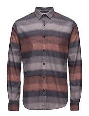 Shirts woven - ORANGE RED