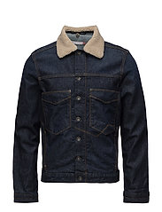 Jackets indoor denim - BLUE DARK WASH