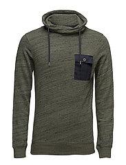 Sweatshirts - DARK KHAKI