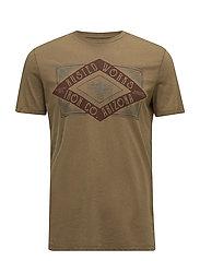 T-Shirts - BROWN