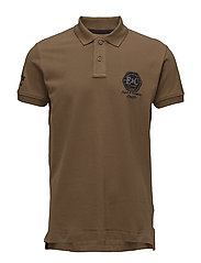 Polo shirts - BROWN