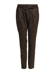 Pants woven - EBONY BROWN