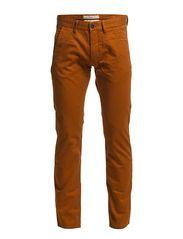 Pants woven - TABAC ORANGE