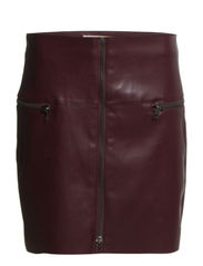 Skirts woven - BURGUNDY RED
