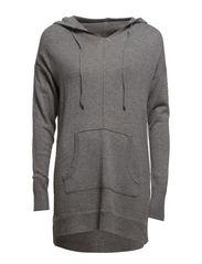 Sweaters - ASPHALT GREY MELANGE