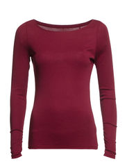 T-Shirts - TAWNY RED