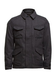Jackets outdoor woven - CARBON MELANGE