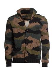 Sweaters cardigan - HERBAL KHAKI