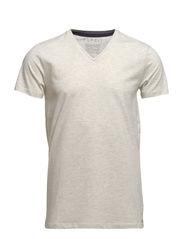 T-Shirts - NATURAL WHITE MELANGE