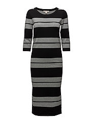 Dresses flat knitted - BLACK 2