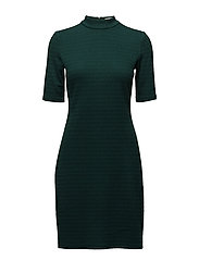 Dresses knitted - DARK TEAL GREEN