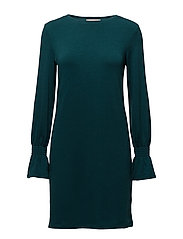 Dresses knitted - TEAL BLUE