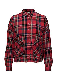 Blouses woven - RED